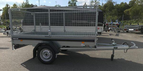 Nätgrindar och kapellduk tillbehör till Fogelsta släpvagnar