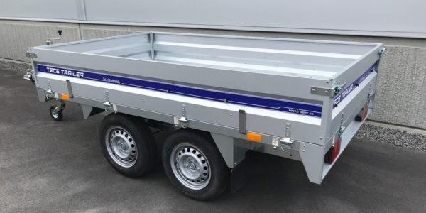 Släpvagn Tece P2000BR Släpvagn Tece P1400BR