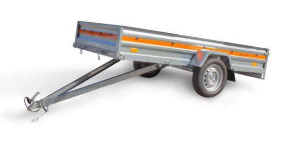 Släpvagn Temared E263/750 tipp Släpvagn Temared E263/650 tipp