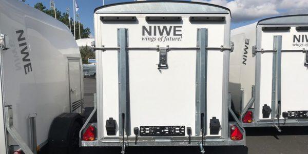 Skåpsläp Niwe Streamline 340